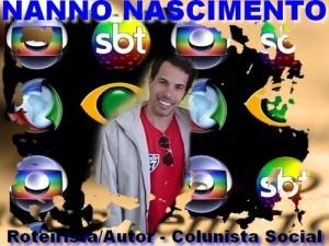 NANNO NASCIMENTO - Roteirista e Autor de Novelas de Orlândia/SP.